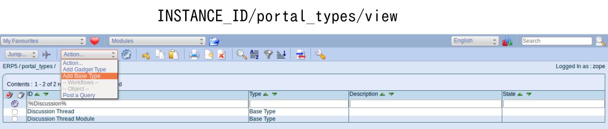 Add base type