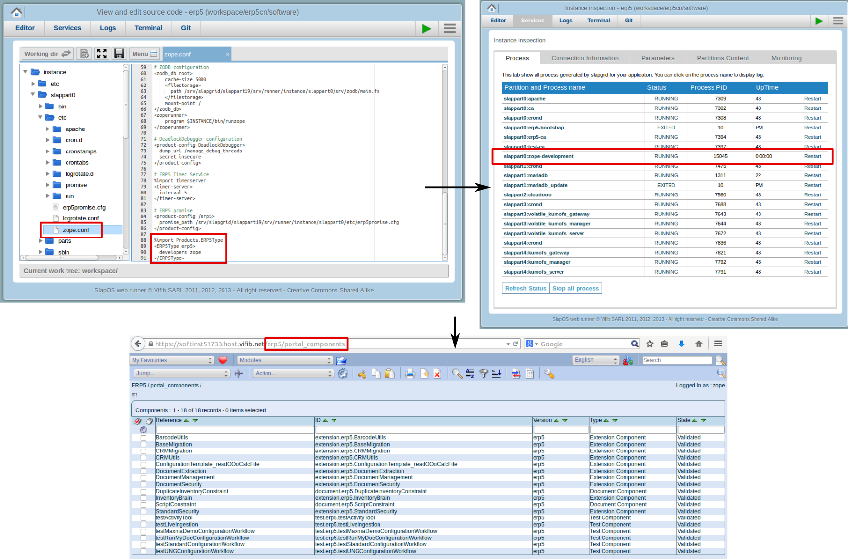 Active Portal Components