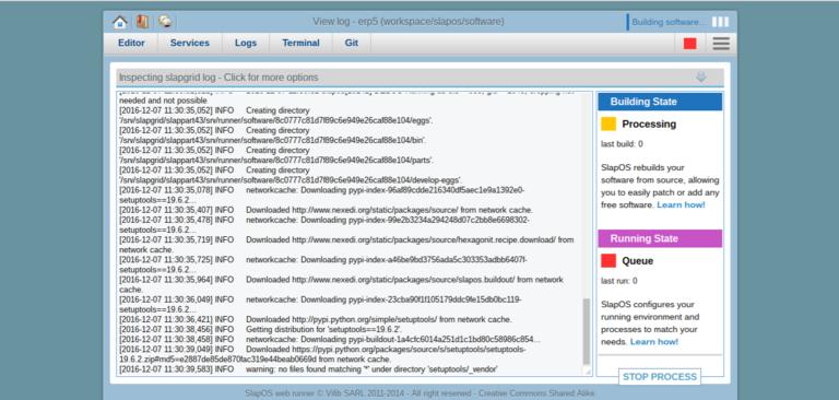 Requesting a Webrunner with ERP5 - SlapOS Webrunner Install Software Release