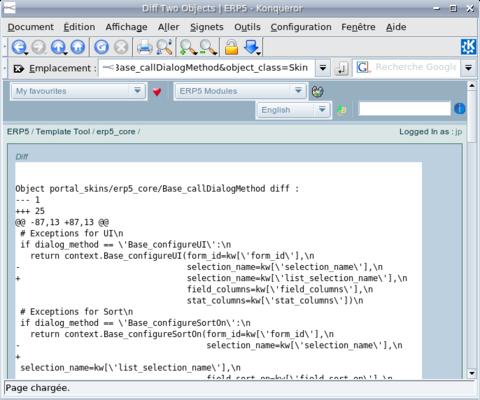 ERP5 HowTo   Display Source Code in ERP5 - Screenshot 2