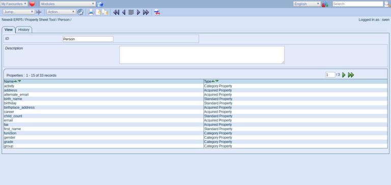 ERP5 Documentation   Screenshot Person Module Property Sheet