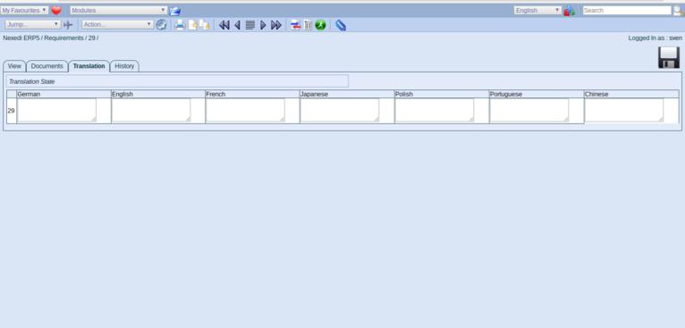 ERP5 Documentation   Screenshot Translation Tab